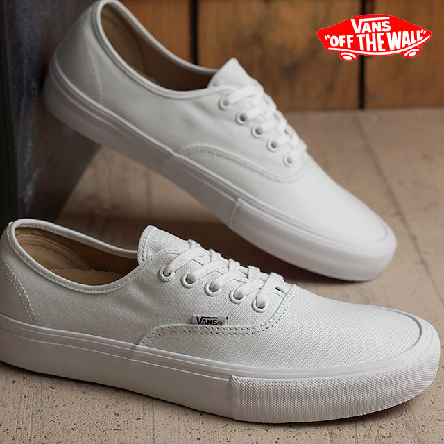 Vans authentic professional VANS men gap Dis sneakers shoes PRO AUTHENTIC  PRO TRUE WHITE/TRUE WHITE (VN000Q0DQLZ SS16)