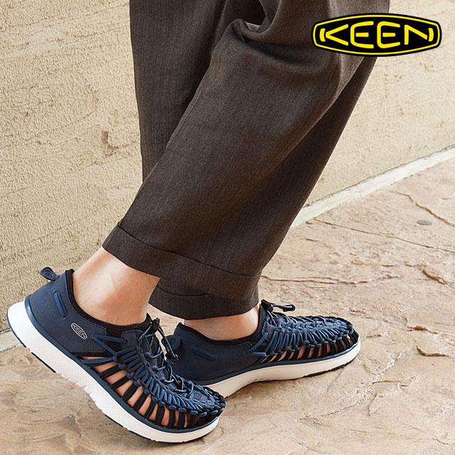 aa22f6262ce8 Keen men s unique auto KEEN Sandals sneakers MEN UNEEK O2 MIDNIGHT NAVY WHITE  (1015686 SU16)
