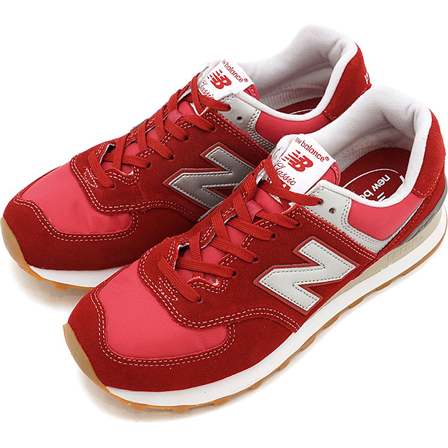 sneakers for cheap ad040 3908c Newbalance New Balance sneakers new balance ML574 red / gray (ML574HRT SS17)