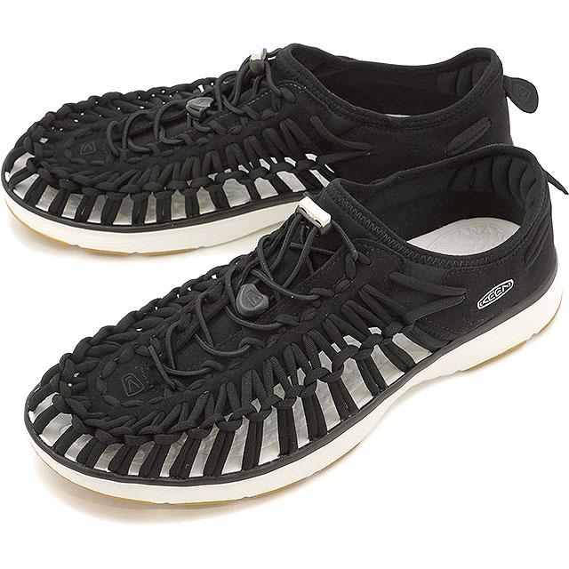 【即納】キーン ユニーク O2 サンダル 靴 メンズ KEEN UNEEK O2 MNS Black/Harvest Gold [1017050]