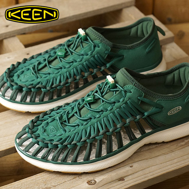 ab93d5d6ea68 Kean unique O2 men sandal KEEN UNEEK O2 MNS Evergreen Pineneedle (1017051  SS17)