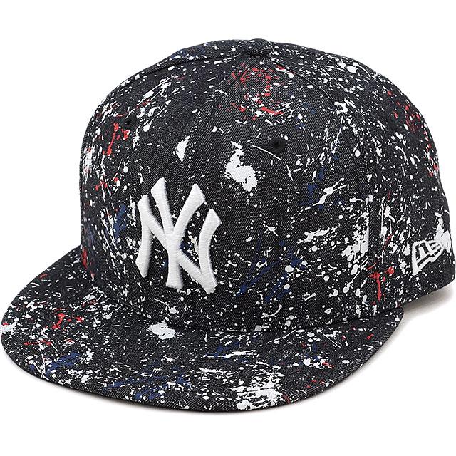 350b5df736ac NEWERA new gills cap New Era 59FIFTY NY SPLASH PAINT CAP New York Yankees  splashing print ...