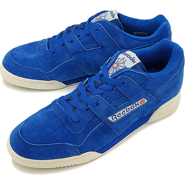 088be560160f Reebok CLASSIC Reebok classical music WORKOUT PLUS VINTAGE practice game plus  vintage AWESOME BLUE CHALK C.WHITE shoes (BD3382 SS17)