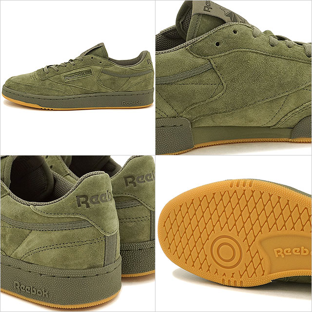 2535137a8b2 Reebok CLASSIC Reebok classical music CLUB C 85 TG club C 85 TG hunter green    polar green gum shoes (BD4759 SS17)