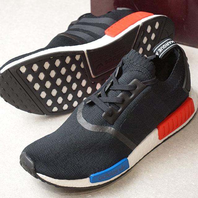 adidas Adidas originals NMD RNR PK men gap Dis N M D C black C black R red Originals nomad shoes (S79168 SS17)