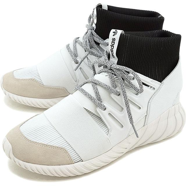 new arrival 4d653 8a47d adidas Originals Adidas originals TUBULAR DOOM メンズレディースチュブラードーム R white /R  white /C black (BA7554 SS17)