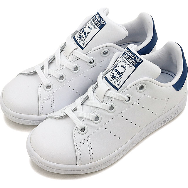 new product 8a6fc 68f43 Adidas originals Stan Smith kids Jr. adidas Originals STAN SMITH EL C R  white /R white /E blue S16 shoes (BB0694 SS17)