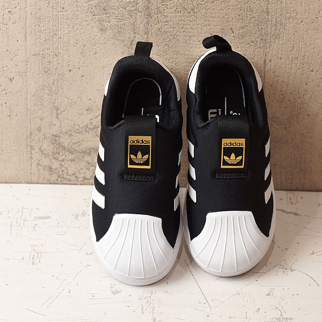 01c7cd84ed58 adidas Originals Adidas originals SS 360 I kids baby superstar C black  R  white  R white shoes (S82711 SS17)