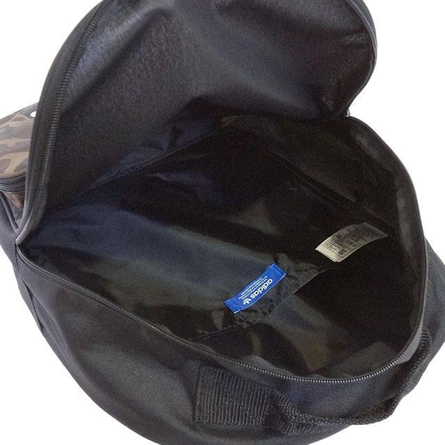 adidas Originals Adidas originals BACKPACK CLASSIC CAMO men gap Dis backpack classical music duck rucksack black multicolored (BK7214 SS17)