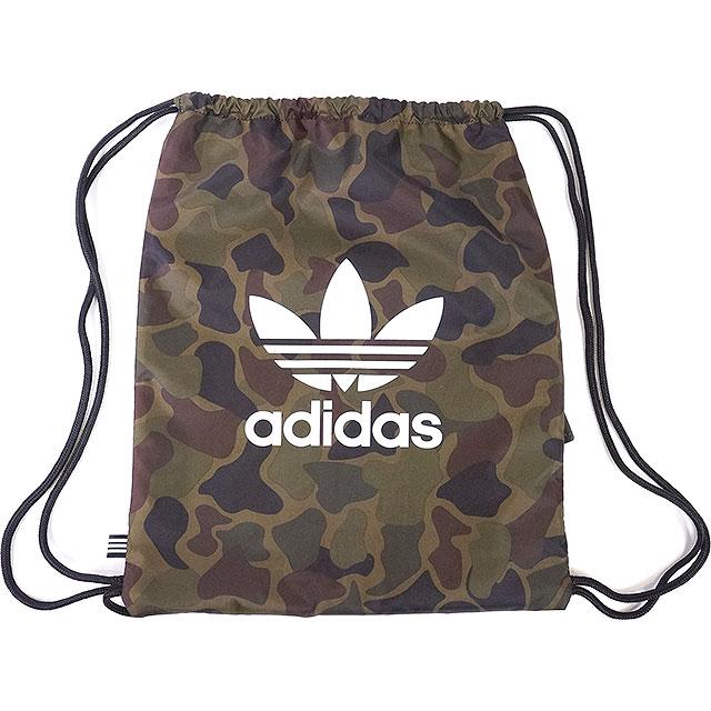 adidas Adidas originals TREFOIL GYMSACK CAMO メンズレディーストレフォイルジムサックカモマルチカラー  Originals (BK7213 SS17)