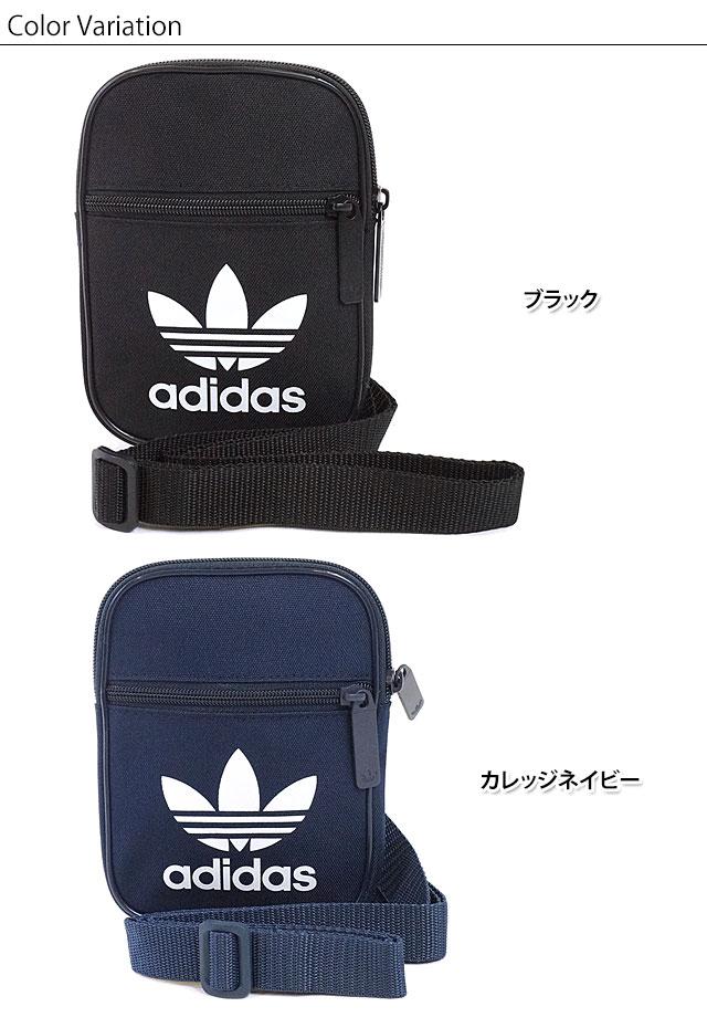 adidas Originals Adidas originals FESTIVAL BAG TREFOIL  メンズレディースフェスティバルショルダーバッグウェストポーチトレフォイル (BK6730 BK6731 SS17) f721b352027fb