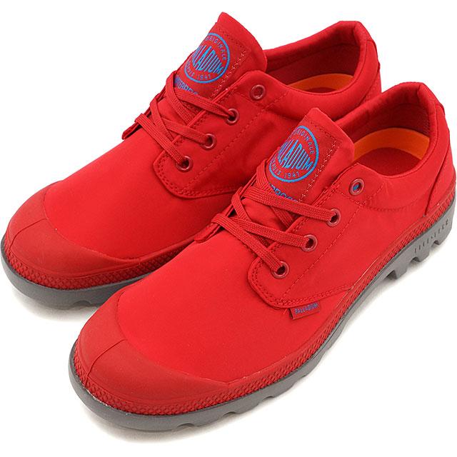PALLADIUM パラディウム メンズ レディース Pampa Oxford Puddle Lite WP パンパ ローカット パドルライト ウォータープルーフ True Red/Metal 靴 (75427-601 SS17)【コンビニ受取対応商品】