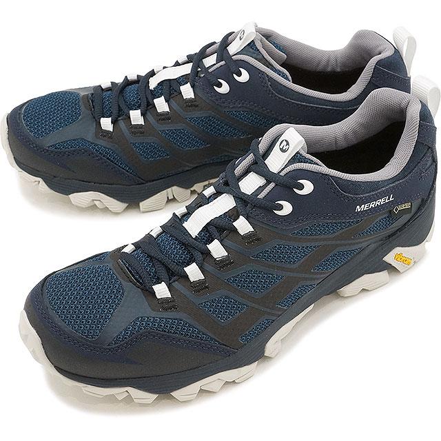 【日本別注】メレル メンズ モアブ FST ゴアテックス MERRELL MENS MOAB FST GORE-TEX NAVY/WHITE 靴 (J598189 SS17)【コンビニ受取対応商品】