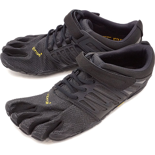 Vibram FiveFingers ビブラムファイブフィンガーズ メンズ MNS V-TRAIN BLACK OUT ビブラム ファイブフィンガーズ 5本指シューズ ベアフット 靴 (17M6601)【コンビニ受取対応商品】