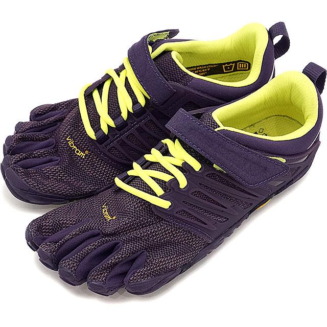Vibram FiveFingers ビブラムファイブフィンガーズ レディース WMNS V-TRAIN NIGHTSHADE/S.YELLOW ビブラム ファイブフィンガーズ 5本指シューズ ベアフット 靴 [17W6606]