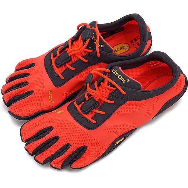 Vibram FiveFingers ビブラムファイブフィンガーズ レディース WMNS KSO EVO F.CORAL/GREY ビブラム ファイブフィンガーズ 5本指シューズ ベアフット 靴 (17W0701)【コンビニ受取対応商品】