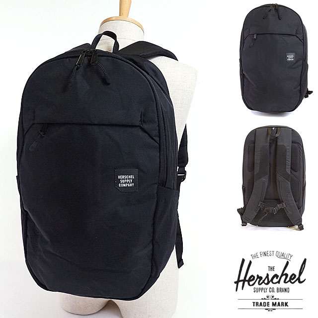 high quality new product hot sale online mischief: Rucksack black (10,322-01387 SS17) with the Herschel ...