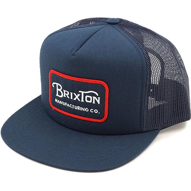 af2b03b007 BRIXTON Brixton cap GRADE MESH CAP grade mesh cap hat navy / red (00232  SS17)