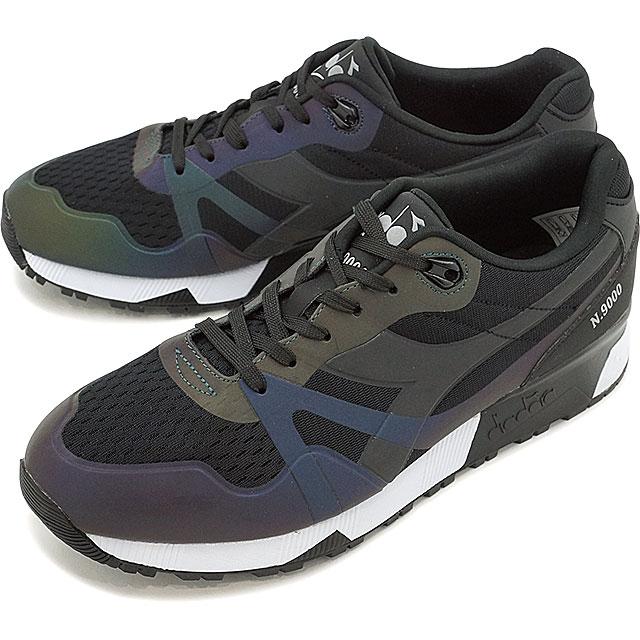 buy online 03e46 2fb51 mischief  diadora SPORTSWEAR Deer gong sportswear sneakers shoes N9000 MM HOLOGRAM  N9000 MM hologram black (171,824-0013 SS17)   Rakuten Global Market