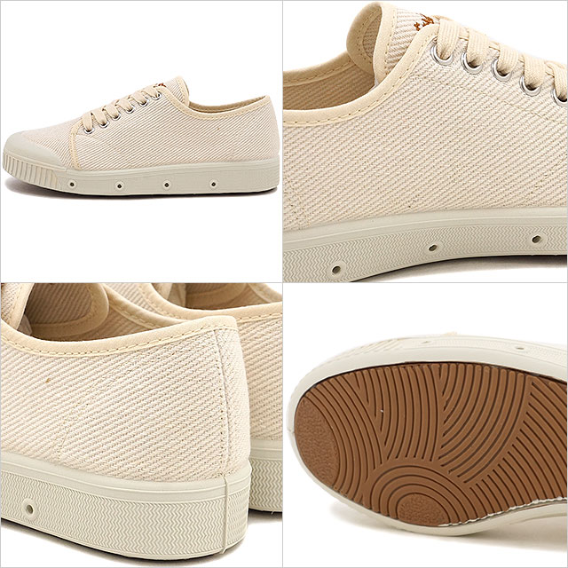 SPRING COURT风衣女士运动鞋WMN G2 HEAVY TWILL VINTAGE VULCANIZED G2 hebitsuirubintejibarukanaizudoofuhowaito(VG2S-2HV SS17)