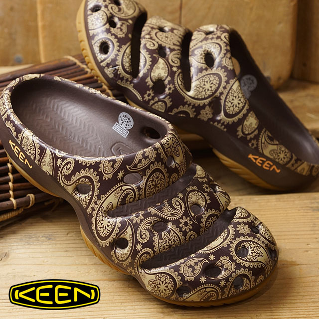 c6f2c2c73895 KEEN Kean yogi arts sandal men Yogui Arts MNS Brown Paisley (1017082 SS17)
