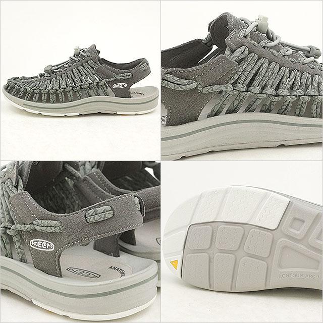 4e16a3005e88 mischief  KEEN Kean unique sandals Lady s UNEEK WMN Neutral Gray ...