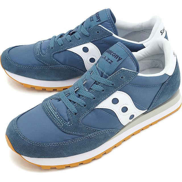 SAUCONY サッカニ- JAZZ ORIGINAL jazz original blue / white men gap Dis sneakers  (S2044-381 SS17)