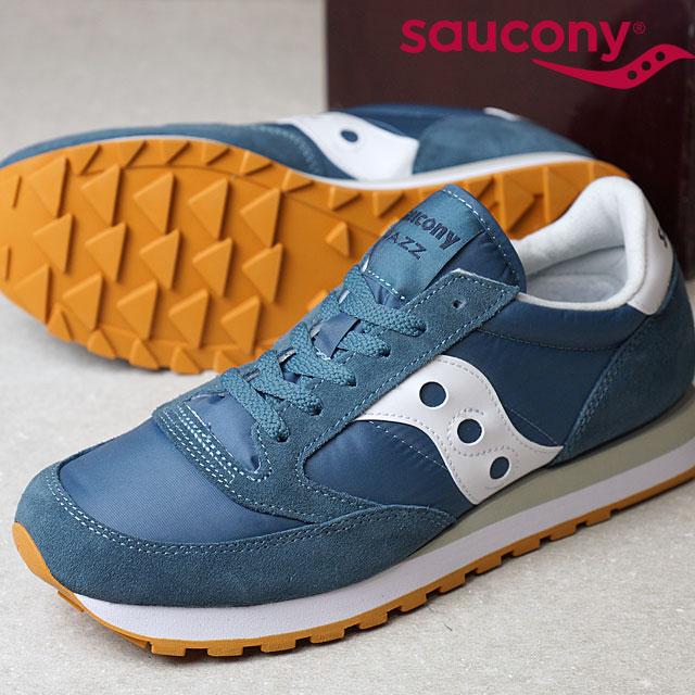 sale retailer 011a8 982c7 SAUCONY サッカニ- JAZZ ORIGINAL jazz original blue / white men gap Dis sneakers  shoes (S2044-381 SS17)