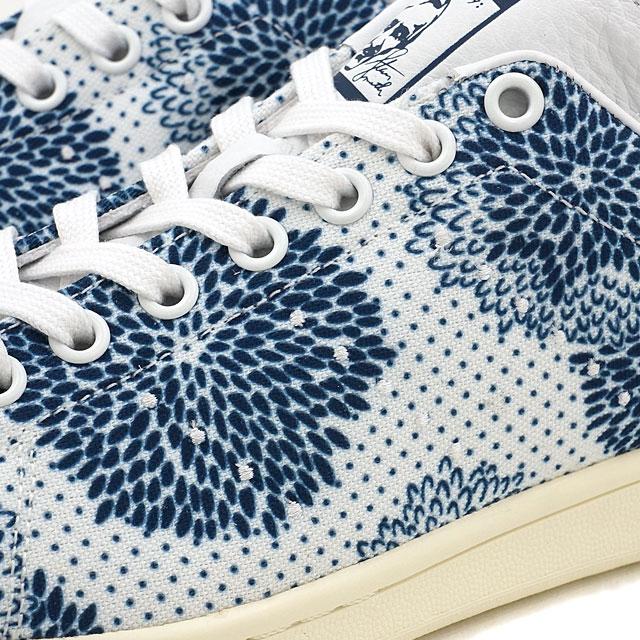 adidas Originals愛迪達原始物STAN SMITH W女士Stan Smith R白/R白/M藍色S17(BB5170 SS17)