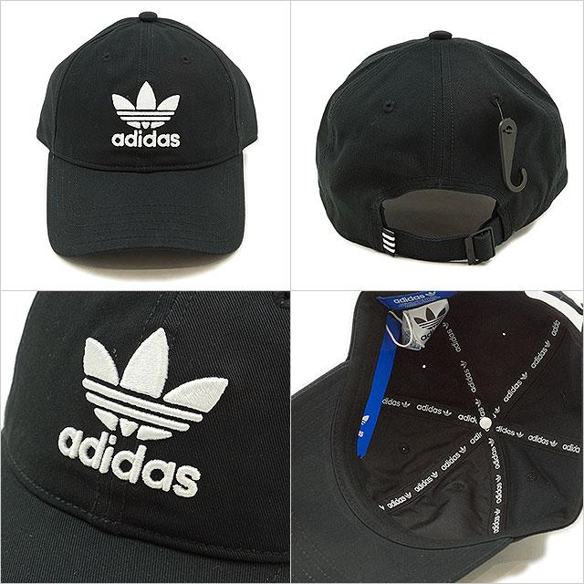 e438e5dca8c68 new article originals trefoil chain limited black adidas baseball cap  classic hat . adidas originals black classic trefoil baseball ...