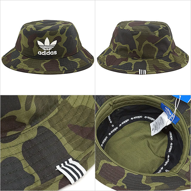 adidas Originals Adidas originals BUCKET HAT CAMO men gap Dis pail hat duck  multicolored (BK7618 SS17) 061e79ec37f