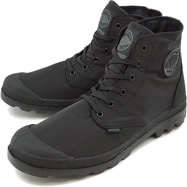 PALLADIUM パラディウム メンズ レディース Pampa Puddle Lite WP パンパ ハイ パドルライト ウォータープルーフ Black/Black 靴 (73085-060 SS17)【コンビニ受取対応商品】