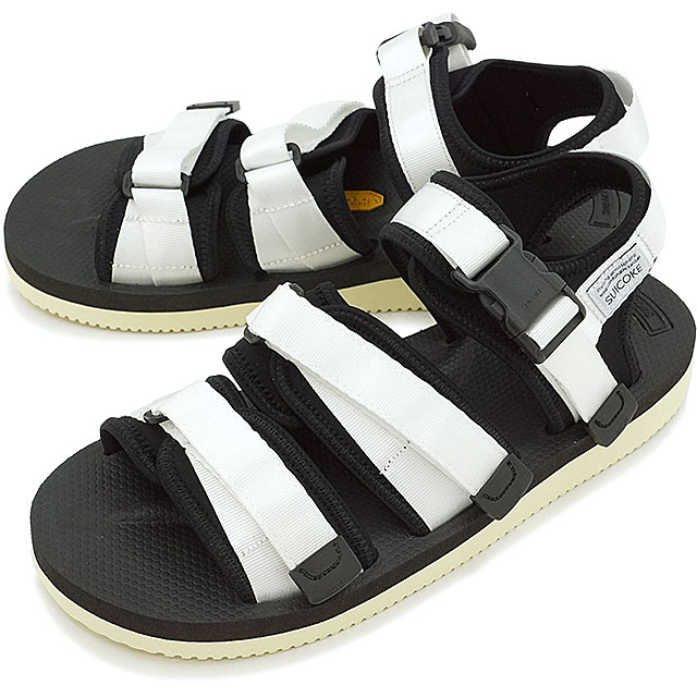 0a17bd83168 SUICOKE Sui cook men gap Dis GGA-V vibram sole sandal WHITE (OG- ...