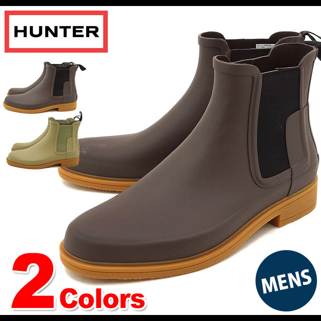 6a4e386b63d5 HUNTER hunter men MENS ORGINAL REFINED CHELSEA original re-find Chelsea  side Gore boots shoes (MFS9060RMA SS17)