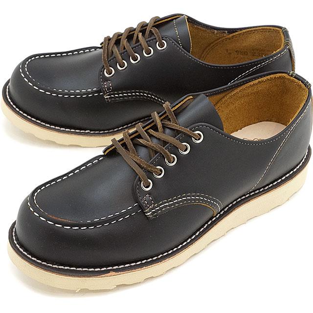 【返品サイズ交換可】REDWING レッドウィング ブーツ メンズ IRISH SETTER アイリッシュセッター オックスフォード シューズ Black Klondike 靴 (9894 SS17)【コンビニ受取対応商品】