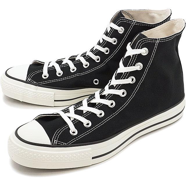 【即納】【国産モデル】コンバース キャンバス オールスター J ハイカット CONVERSE CANVAS ALL STAR J HI ブラック 靴 (32067961)【e】【コンビニ受取対応商品】