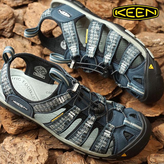 d72f96ba9aacd KEEN Kean Clearwater sea N X sandals men Clearwater CNX MNS Midnight Navy Vapor  (1016295 SS17)