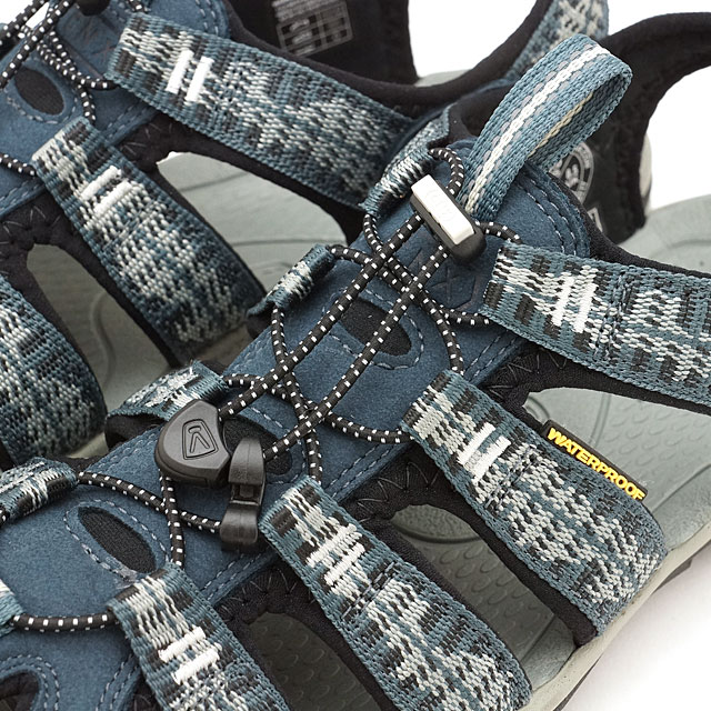 9b9293a0c8e3 KEEN Kean Clearwater sea N X sandals men Clearwater CNX MNS Midnight Navy  Vapor (1016295 SS17)
