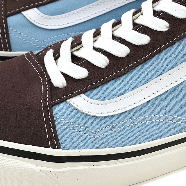 557a3bc9ee VANS vans ANAHEIM FACTORY PACK Anaheim factory pack OLD SKOOL 36 DX old  school BROWN LIGHT BLUE (VN0A38G2MWO SS17)