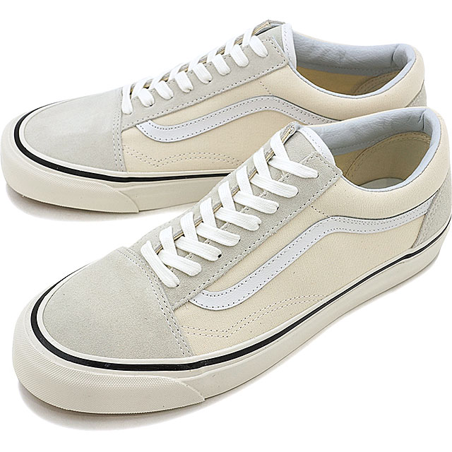 VANS vans ANAHEIM FACTORY PACK Anaheim factory pack OLD SKOOL 36 DX old  school CLASSIC WHITE (VN0A38G2MR4 FW18) 24db2615b
