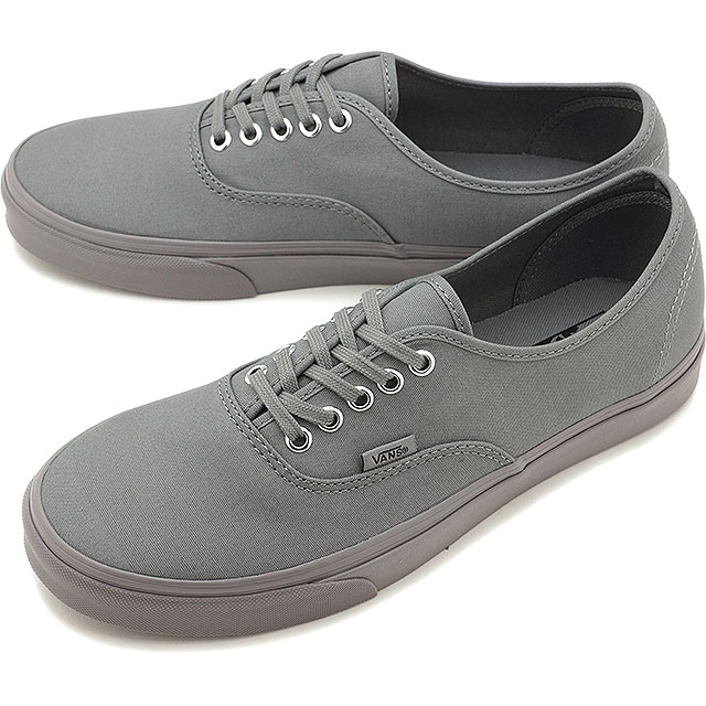 VANS vans AUTHENTIC authentic FROST GRAY SILVER (VN0A38EMMQ8 SS17) 1e25d0c19c