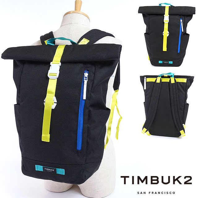 TIMBUK2 ティンバック 2 backpack Tuck Pack tuck pack roll top rucksack day pack  Tropidelic (1010-3-9404 SS17) f249188bed715
