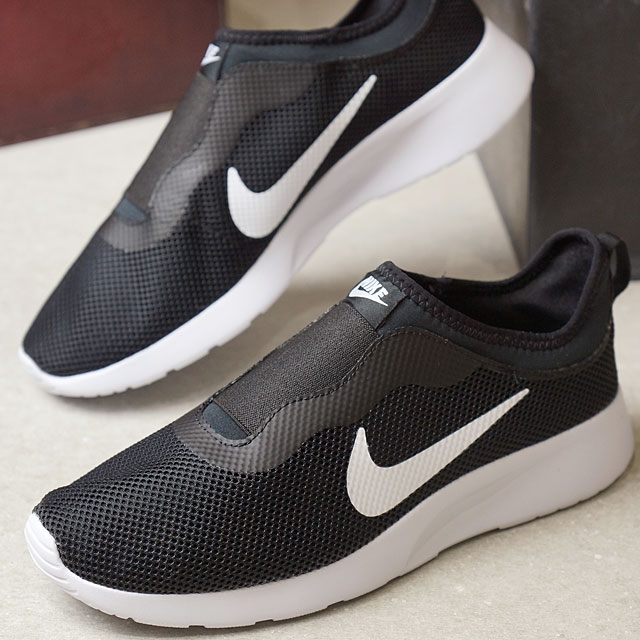 cd8a9bb5fd9c ... ebay nike nike ladys wmns tanjun slip women tongue jun slip slip ons  black white nike