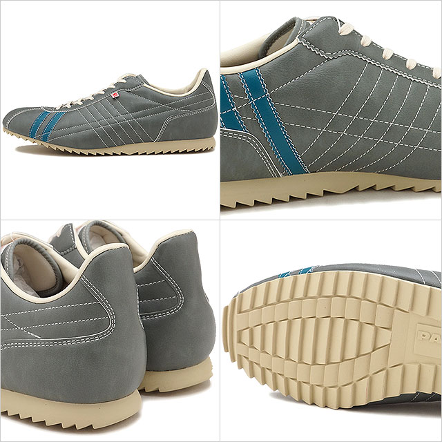 [Made in Japan] PATRICKPatricksports shoes sneaker SULLY gray / green