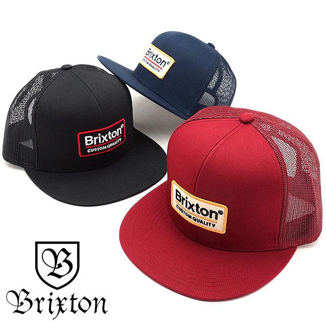 31f66d5c BRIXTON Brixton cap PALMER MESH CAP Palmer mesh cap hat black (00611 SS17)  ...