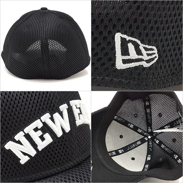 NEWERA new gills cap New Era 39THIRTY New Era SPACER MESH CAP new gills  logo spacer mesh cap baseball cap hat black   Snow white (11404850 SS17) 6c7f7a72b9f