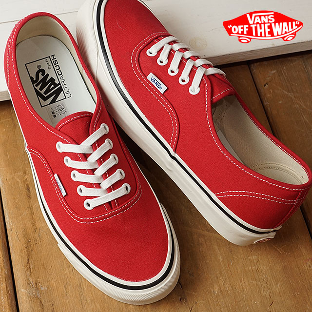 VANS vans ANAHEIM FACTORY PACK Anaheim factory pack AUTHENTIC 44 DX  authentic RACING RED shoes (VN0A38ENMR9 SS17) d5cf7af83e