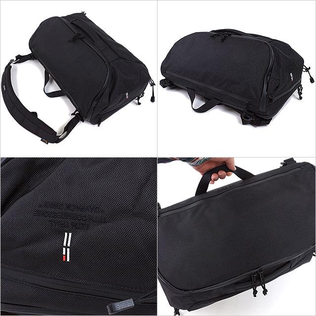 TERG tagubakkupakku Daypack 3Way日包3方法帆布背包挎包公文包商务包黑色(19930013 SS17)