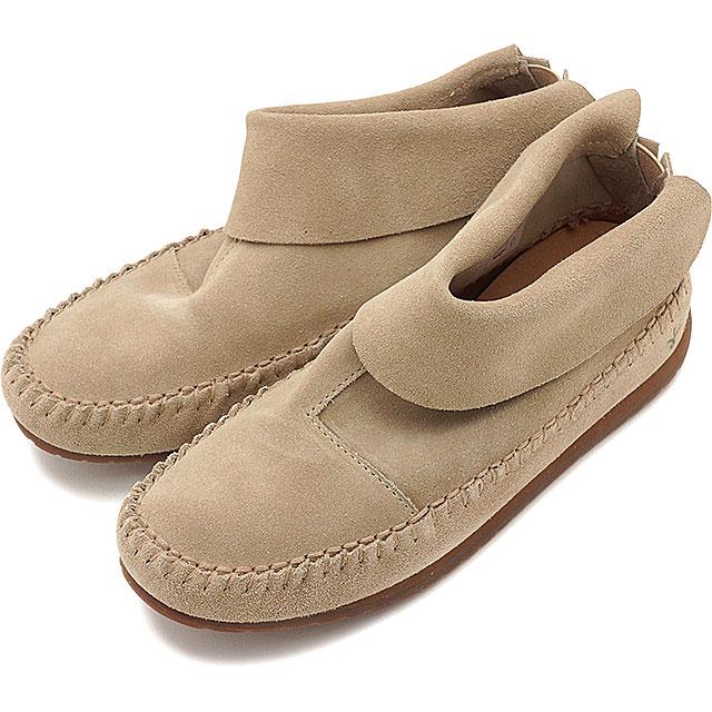 【即納】emu エミュー モカシン ショートブーツ BERRIGAN サンド 靴 (W11389 SS17)【コンビニ受取対応商品】