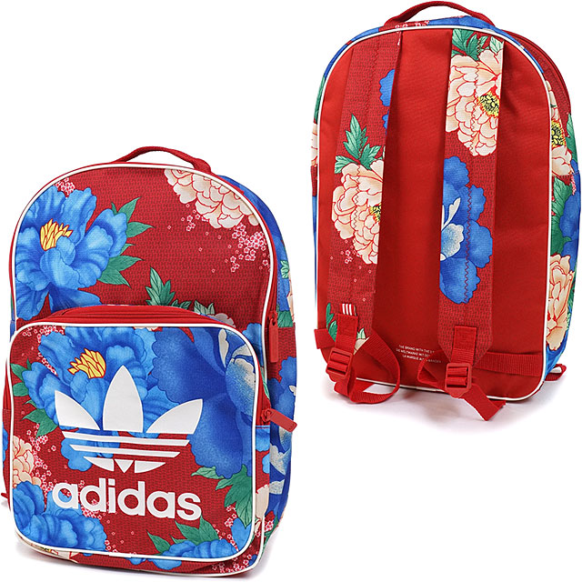 adidas originals backpack red